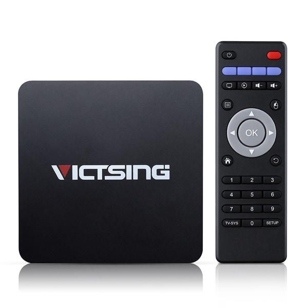 Android 5.1 TV Box with Bluetooth 4.0, HDMI2.0, and Wi-Fi