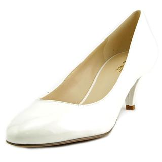 Nine West Women's Sway Me So White Patent Leather Pumps