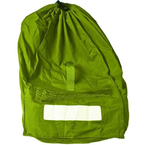 Prince Lionheart Chartreuse Fabric Car Seat Gate Check Bag