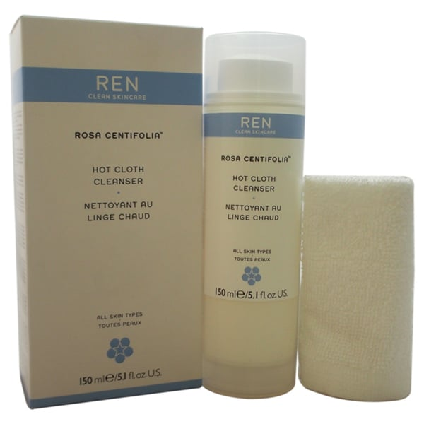 REN Rosa Centifolia Hot Cloth 5-ounce Cleanser