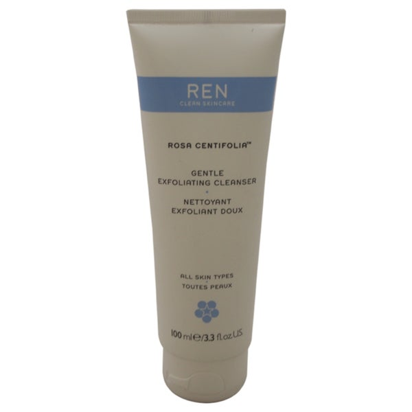 REN Rosa Centifolia 3.3-ounce Gentle Exfoliating Cleanser
