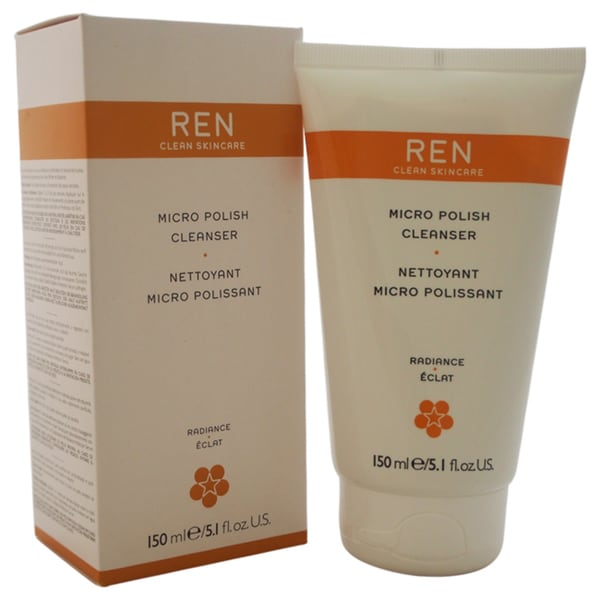 REN Micro Polish 5-ounce Cleanser