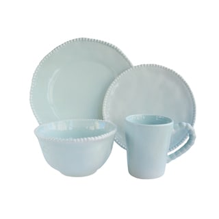 American Atelier Bettina Blue/White Earthenware Dinnerware (Case of 16)