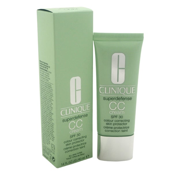 Clinique Superdefense 1.4-ounce Colour Correcting Skin Protector SPF 30 Light