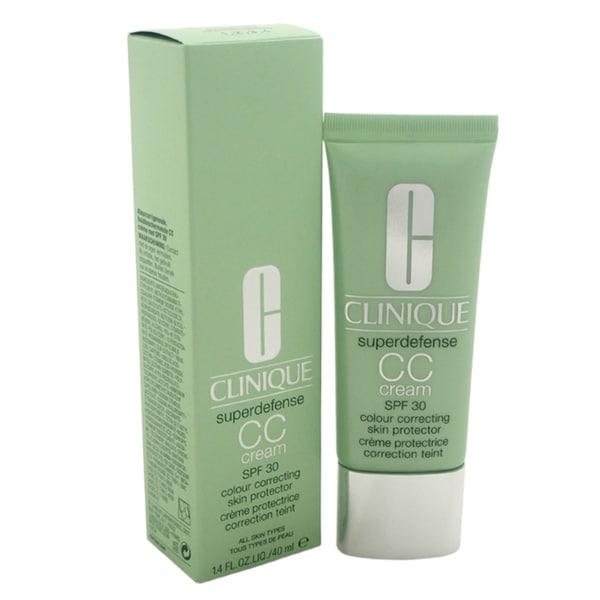 Clinique Superdefense 1.4-ounce Colour Correcting Skin Protector SPF 30 Light