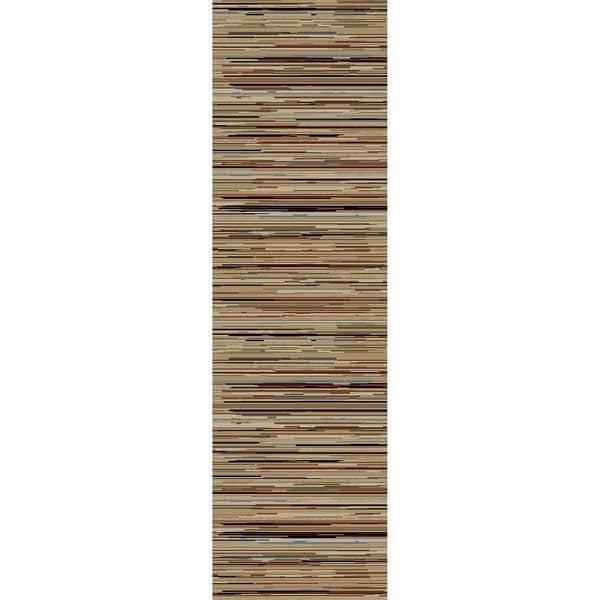 "Juliette Sidney Multicolor Polypropylene Rug (2'3 x 7'7) - 2'3"" x 7'7"" 19265118"