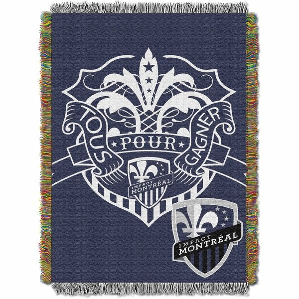 MLS 051 Montreal Impact Handmade Polyester Tapestry
