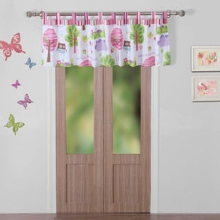 Greenland Home Fashions Woodland Girl Multicolored Polyester Window Valance