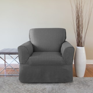CoverWorks Bayside Polyester 1-piece Relaxed-fit Chair Wrap Slipcover