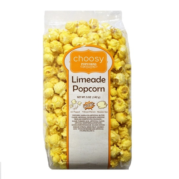 Choosy Chocolates Limeade Popcorn