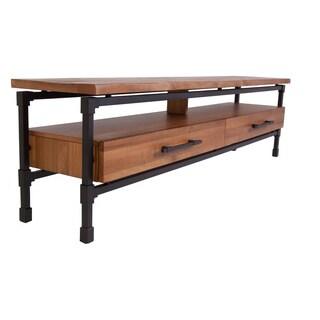 Hans Andersen Home Troelsen Brown Steel/Wood Coffee Table