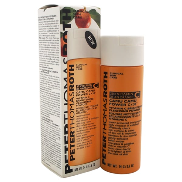 Peter Thomas Roth Camu Camu Power C x 30 Vitamin C Brightening 2.6-ounce Cleansing Powder