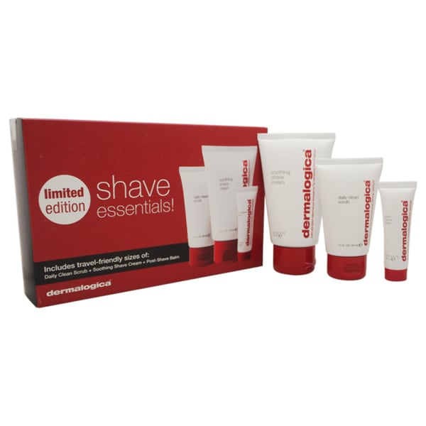 Dermalogica Shave Essentials 3-piece Kit
