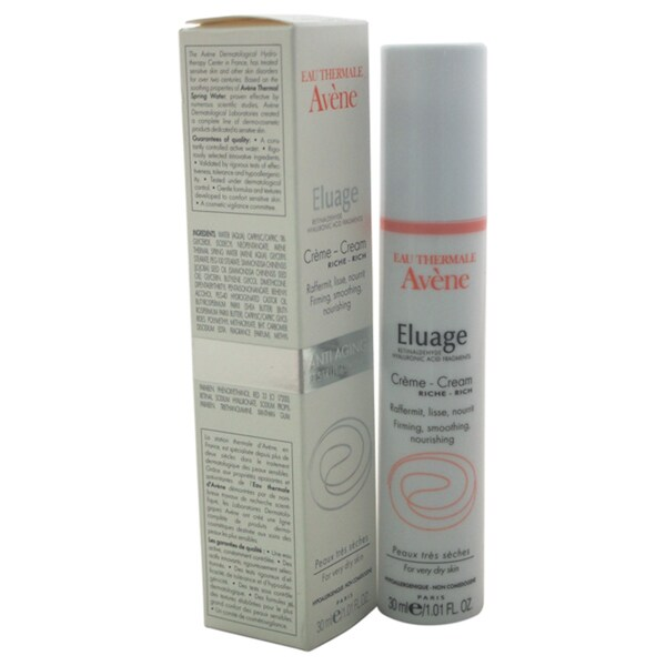 Avene Eluage Rich Cream Eau Thermale 1.01-ounce Cream