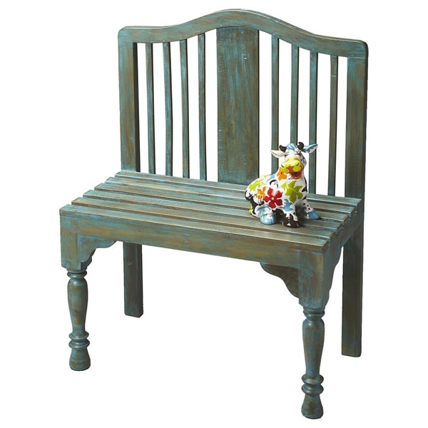 Butler Roseland Blue Wood Bench