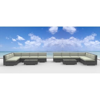 Urban Furnishing VENICE Wicker 14-piece Outdoor Sectional Sofa Set