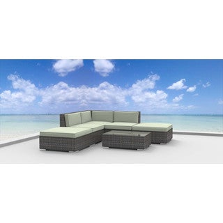 Urban Furnishing Bali Modern Outdoor Backyard Sofa 6-piece Set