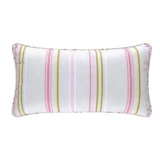 Liliann Multi Cotton/Polyester 24-inch x 12-inch Lumbar Pillow