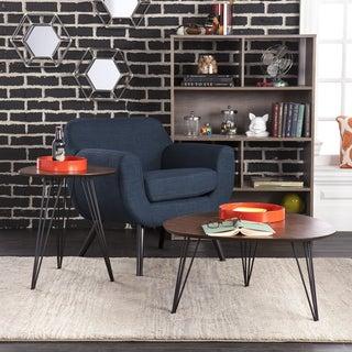 Holly & Martin Bannock 2pc Table Set - Dark Tobacco w/ Black