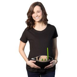 Maternity Peeking Jedi Baby T-shirt