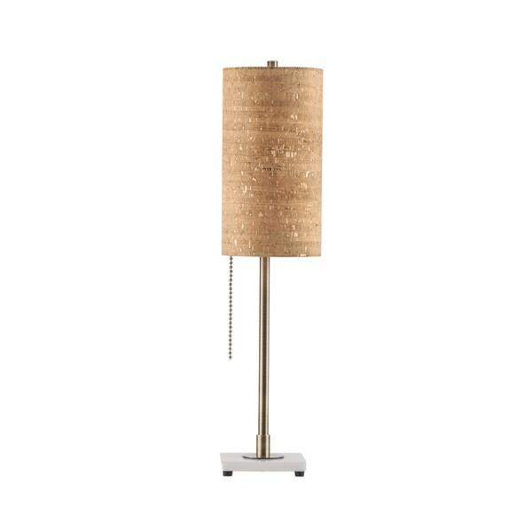 Lollipop Gold Steel 1-light Table Lamp 19268331