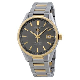 Tag Heuer Men's WAR215C.BD0783 'Carrera' Automatic Two-Tone Stainless Steel Watch