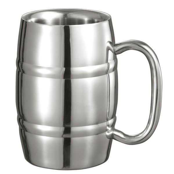Visol Big 13-ounce Cooper Double Walled Stainless Steel Mug 19268566