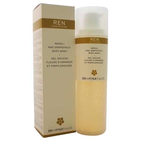 REN Neroli and Grapefruit Body Wash 6.8-ounce Body Wash