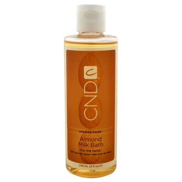 CND Spamanicure Almond Milk Bath 8-ounce Hand Soak