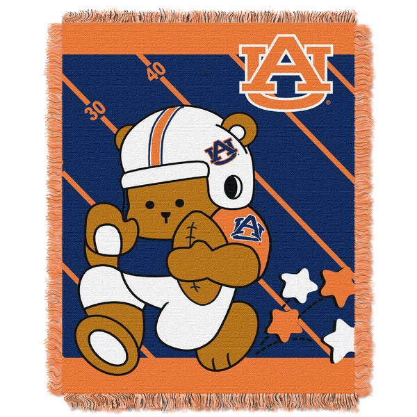 COL 044 Offical Collegiate Auburn Baby Blanket