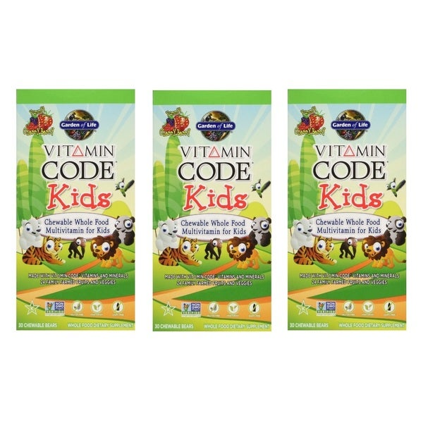 Garden of Life Vitamin Code Kids' Multivitamin (30 Chewable Bears)