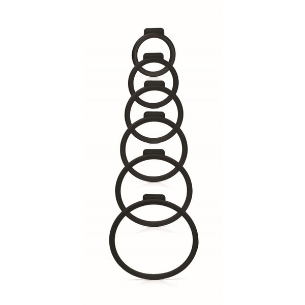 Tantus Silicone Six-size O-ring Set