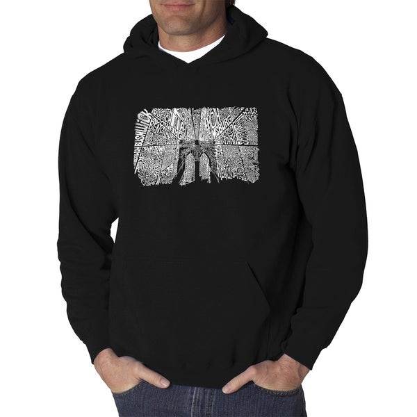 Men's Brooklyn Bridge Hooded Sweatshirt