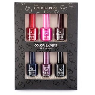 Golden Rose Long Wear Color Expert 6-piece Nail Lacquer Set