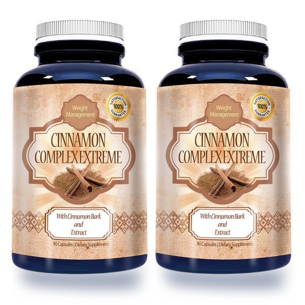 Cinnamon Bark Extract 1,000-milligram High-potency Dietary Supplement (90 Capsules)