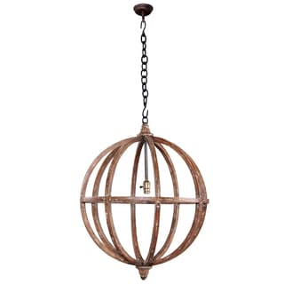 Bramble Co. Infinity Smackle Crackle Medium Chandelier
