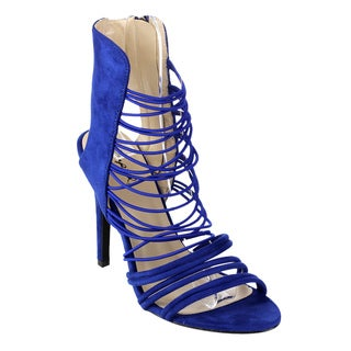 Beston Cc44 Women S Caged Heel Sandals 18299139