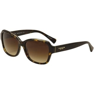 Coach HC8160 512013 - Dark Tortoise by Coach for Women - 56-17-135 mm Sunglasses