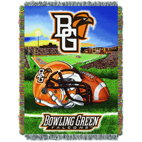 COL 051 Bowling Green Handwoven Tapestry Throw