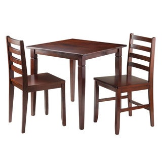 Winsome Kingsgate 3-piece Wood Dining Set