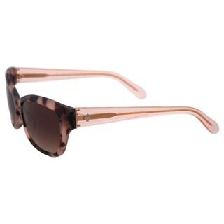 Kate Spade Johanna/S RUR B1 - Havana Rose Pink by Kate Spade for Women - 53-17-135 mm Sunglasses