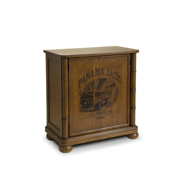 Panama Jack High Tide Mile Marker Zero Accent Cabinet