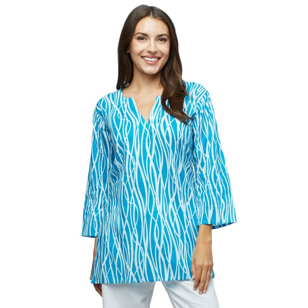 Snowdrift Cotton Tunic (India)