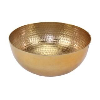 Gold Aluminum Medium Centerpiece