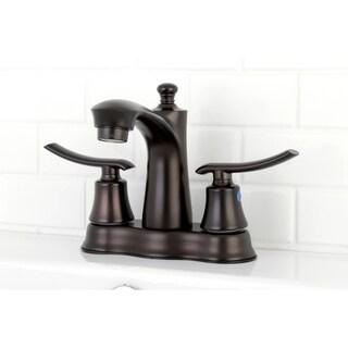 Euro Oil Rubbed Bronze 4-inch Center Bathroom Faucet