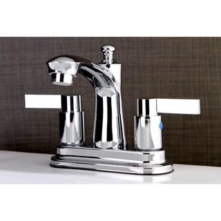 Euro Chrome 4-inch Center Bathroom Faucet