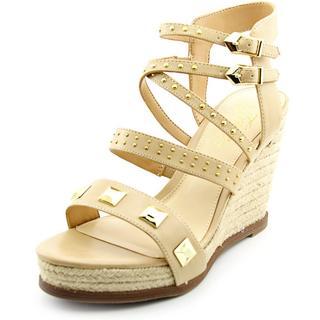 Fergie Women's Averie Tan Faux Leather Espadrille Sandals