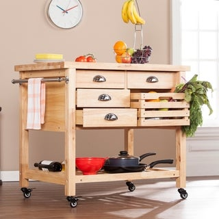 Upton Home Appleton Kitchen Cart
