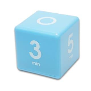 Teledex Inc Blue Plastic 1/3/5/7-minute Preset Cube Timer