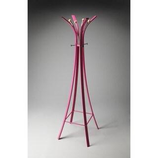 Butler Randolph Pink Metal Coat Rack